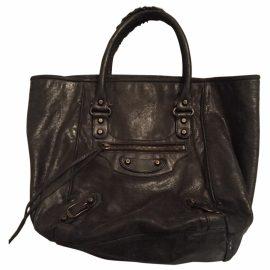 Balenciaga Leather Shopping BAG