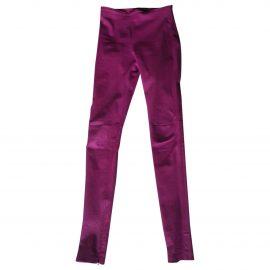 Balenciaga Leather leggings