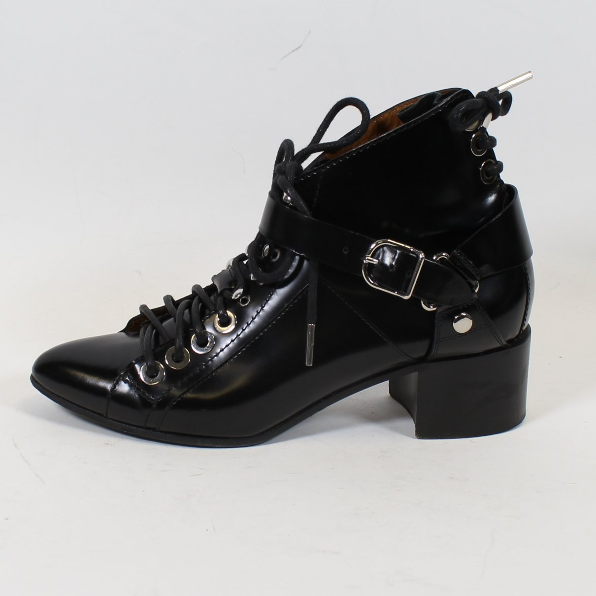 Balenciaga N Black Leather Ankle boots for Women