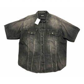 Balenciaga N Grey Denim - Jeans Shirts for Men