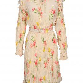 Balenciaga Off-shoulder Dress
