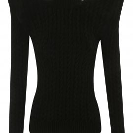 Balenciaga Turtleneck Woven Sweater