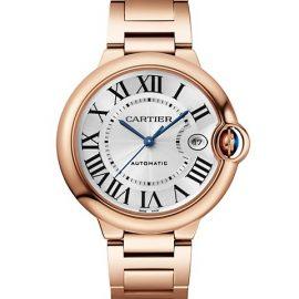 Ballon Bleu De Cartier 18K Rose Gold Bracelet Watch