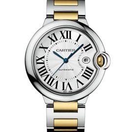 Ballon Bleu De Cartier 18K Yellow Gold & Stainless Steel Bracelet Watch