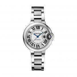 Ballon Bleu De Cartier Watch 33mm, Automatic Movement, Steel