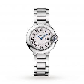 Ballon Bleu de Cartier watch, 28 mm, steel