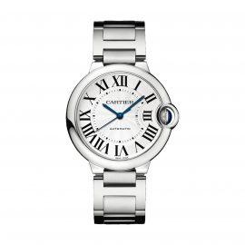 Ballon Bleu de Cartier watch, 36 mm, steel