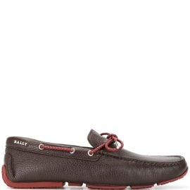 Bally boat loafer shoes - Brown