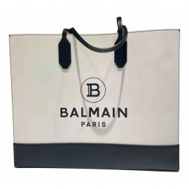 Balmain Leather tote
