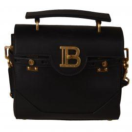 Balmain Logo Plaque Top Handle Shoulder Bag