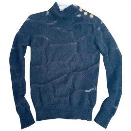 Balmain N Black Wool Knitwear for Women