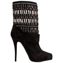 Barbara Bui N Black Suede Ankle boots for Women