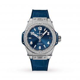 Big Bang One Click Steel Blue Diamonds Automatic 39mm