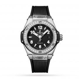 Big Bang One Click Steel Diamonds 33mm Watch