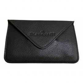 Blancpain black Leather Wallets