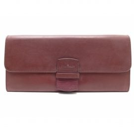 Blancpain burgundy Leather Wallets