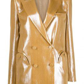 Blazé Milano double breasted jacket - Gold