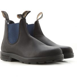Blundstone Chelsea Boots for Men On Sale, Black, Leather, 2021, 7 7.5