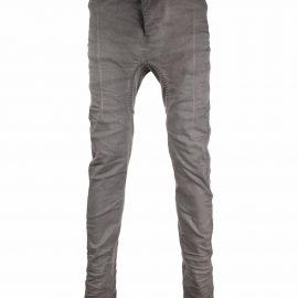 Boris Bidjan Saberi low-rise skinny-cut jeans - Grey