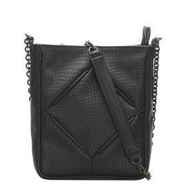 Bottega Veneta Black Canvas Shoulder Bag