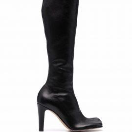 Bottega Veneta Bloc heel knee-high boots - Black