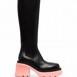 Bottega Veneta Flash knee-high boots - Black