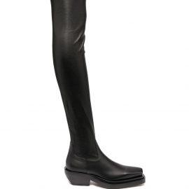 Bottega Veneta over-the-knee BV Lean boots - Black