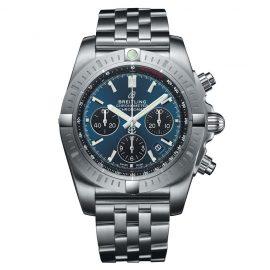 Breitling Chronomat B01 Men's Stainless Steel Bracelet Watch