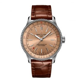 Breitling Navitimer Automatic 35 Ladies' Leather Strap Watch
