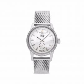 Breitling Pre-owned 2021 pre-owned Transocean 38mm - White