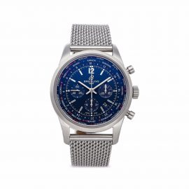 Breitling Pre-owned 2021 pre-owned Transocean Chronograph 46mm - Blue