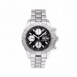 Breitling Pre-owned pre-owned Superocean Chronograph 42mm - Black