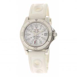 Breitling SuperOcean White Steel Watch for Women