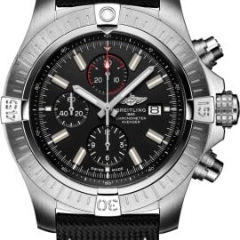 Breitling Watch Super Avenger Chronograph 48 Leather Folding Clasp