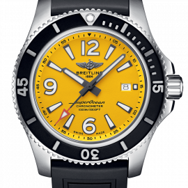 Breitling Watch Superocean Automatic 44 Yellow