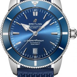 Breitling Watch Superocean Heritage B20 Automatic 46 Gun Blue Rubber Aero Classic