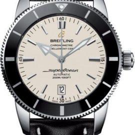 Breitling Watch Superocean Heritage II 46 Steel Leather Tang Type