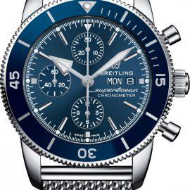 Breitling Watch Superocean Heritage II Chronograph 44 Aero Classic Bracelet