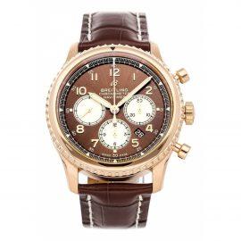 Breitling metallic Pink gold Watches