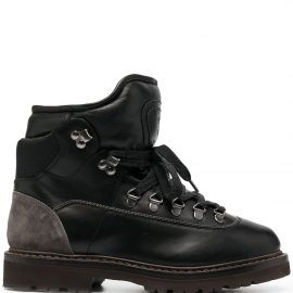 Brunello Cucinelli chunky hiking boots - Black