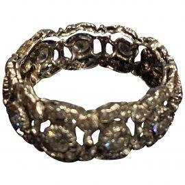 Buccellati N Silver White gold Ring for Women