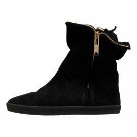 Burberry Faux fur snow boots