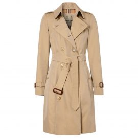 Burberry N Beige Cotton Trench Coat for Women