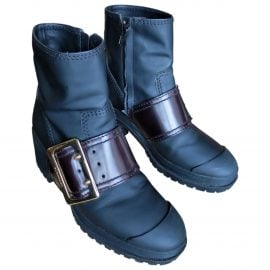 Burberry N Black Rubber Ankle boots for Women