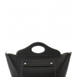 Burberry Small Tote Pocket Bag In Soft Leather