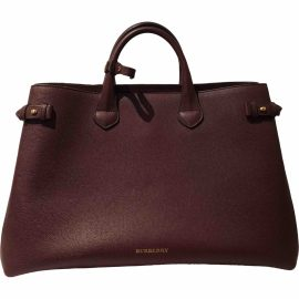 Burberry The Banner leather tote