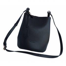 Burberry The Bucket leather crossbody bag