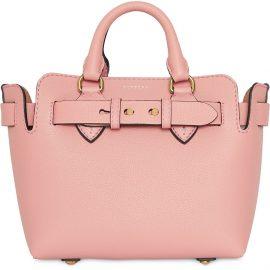 Burberry The Mini Leather Belt Bag - PINK