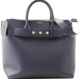 Burberry Tote Bag On Sale in Outlet, Regency Blue, Leather, 2021