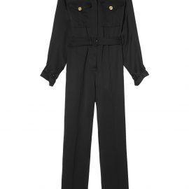 Burberry belted jumpsuit - Black
